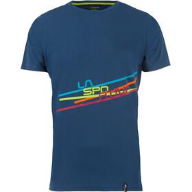La Sportiva Stripe 2.0 - T-shirt manches courtes Homme - bleu